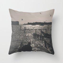 Venice landscape Throw Pillow