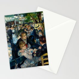 Renoir - Dance at Le Moulin de la Galette Stationery Cards