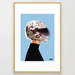 Biker series - 01 Framed Art Print