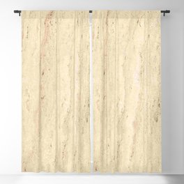 travertine stone marble Blackout Curtain