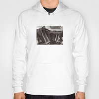 motorcycle Hoodies featuring Motorcycle by Jaci Wandell