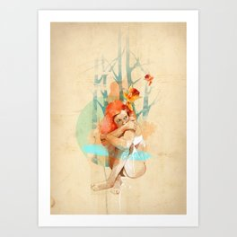 Lonely Art Print