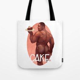 Chocolate Cake Tote Bag