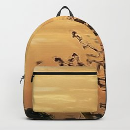 shadows at the sunset Backpack