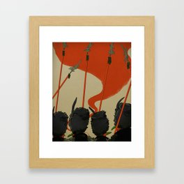 Winkies Framed Art Print