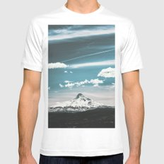 Mountain Morning Mens Fitted Tee White X-LARGE