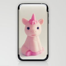 Pink Unicorn Sees You iPhone & iPod Skin