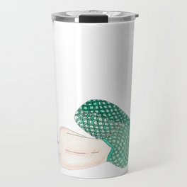 Sirena Dormida (Sleeping Mermaid) Travel Mug