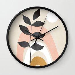 Minimal Abstract Shapes 16 Wall Clock
