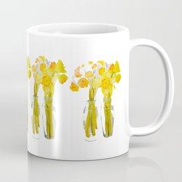 Daffodils watercolor Coffee Mug