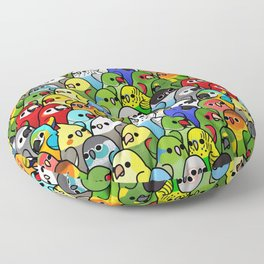 Too Many Birds!™ Bird Squad 1 Floor Pillow