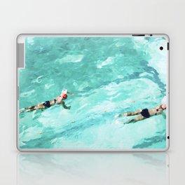 Resolutions (watercolour) Laptop & iPad Skin