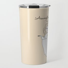 Assumption of Mary - Mary on Heaven - Our Lady of the Navigators Travel Mug