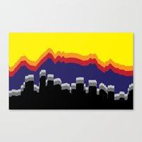 colorado Canvas Prints featuring ColoRADo by Sierra LaFrance