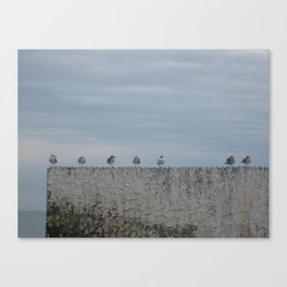 Never A Wall Flower Canvas Print