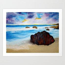 Serenity Rock Art Print