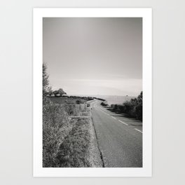Road To Travel Art Print