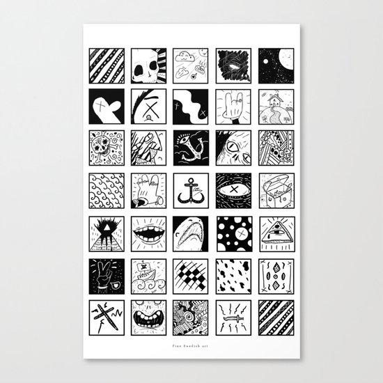 Stuff And Stuff Canvas Print