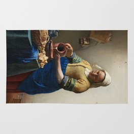 Vermeer - The Milkmaid Rug
