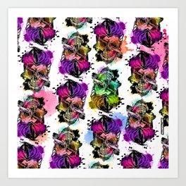 128@AllSkull™ Art Print