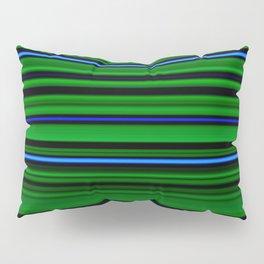 Green and blue stripes Pillow Sham