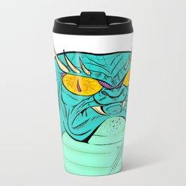 A Free Snake Metal Travel Mug