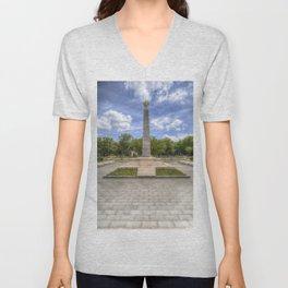 Soviet War Graves And Memorial Budapest Unisex V-Neck