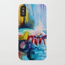 Red Crab iPhone Case