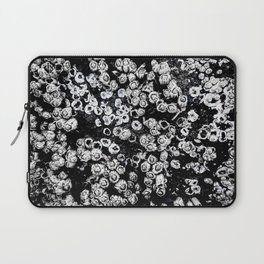 Black and White Barnacles Laptop Sleeve