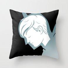 Something Terrible Throw Pillow