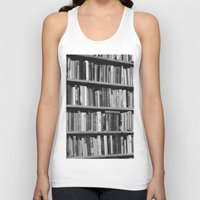 books Tank Tops featuring Books by mariazuil