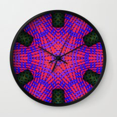 Abstract X One Wall Clock