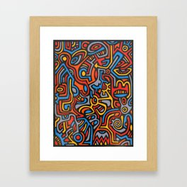 Spacer One Framed Art Print