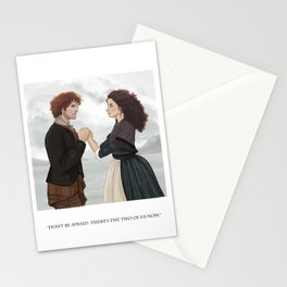 """Outlander """"The Frasers"""" Stationery Cards"""