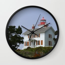 Historic Yaquina Bay Lighhouse Wall Clock