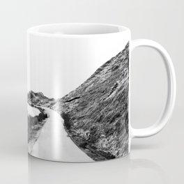 Road through Fairy Glen - B/W Coffee Mug