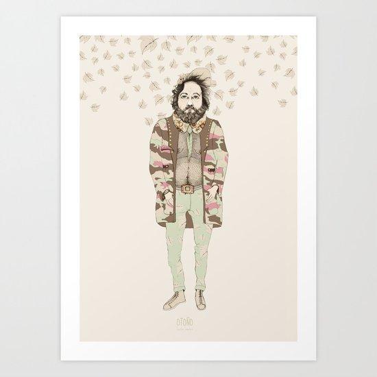 """OTOÑO, """"las tendencias de Ufri"""" Art Print"""