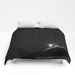 Keep on Rolling Under the Stars Comforters