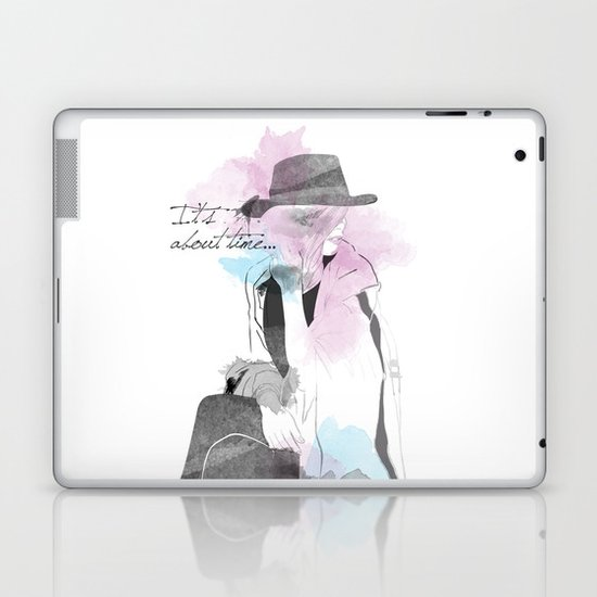 It's about time Laptop & iPad Skin