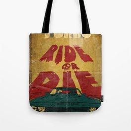 MEKANO TURBO/ride or die poster Tote Bag
