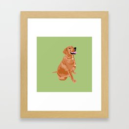 Chicky Framed Art Print