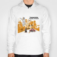 technology Hoodies featuring  Transportation  technology by Design4u Studio