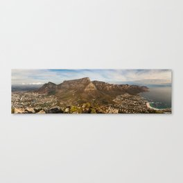 Table Mountain from Lion's Head, Cape Town, South Africa Canvas Print