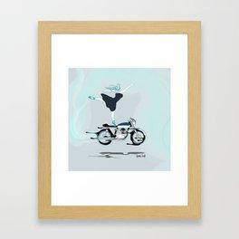 SykoBallerina Framed Art Print