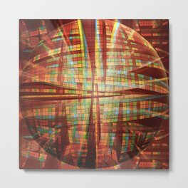 [ spherical ways ] Metal Print