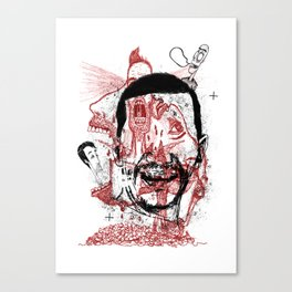 Chaotic mind Canvas Print