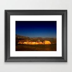 The Citadel, Budva. Framed Art Print