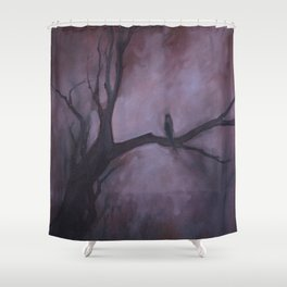 Free and Alone Shower Curtain