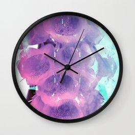 Foxglove Fantasy Wall Clock