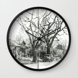 Park Hill Cottonwoods Wall Clock
